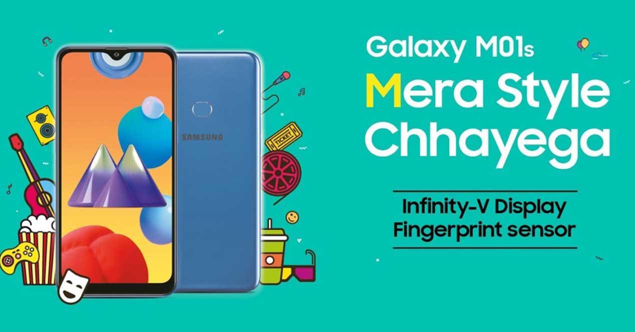Nuevo Samsung Galaxy M01s