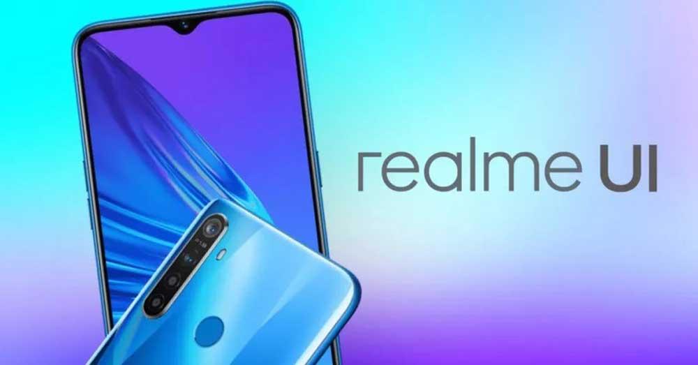 Realme Ui Con Realme 5