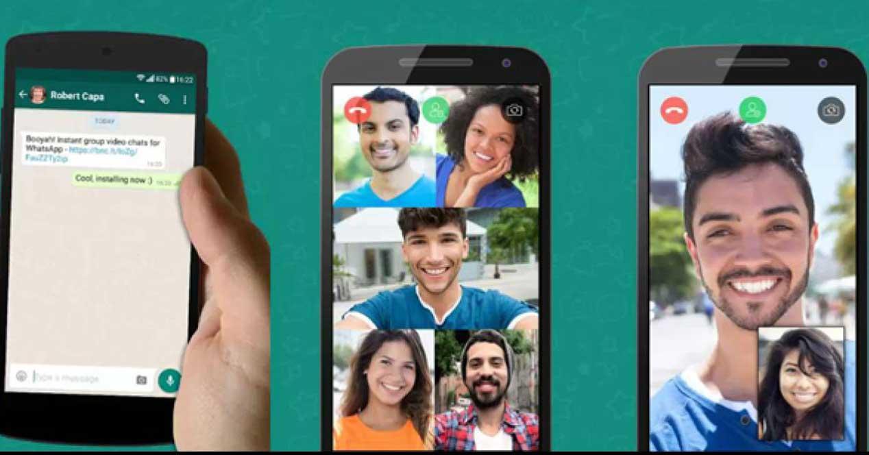 Videollamadas Salas De Whatsapp