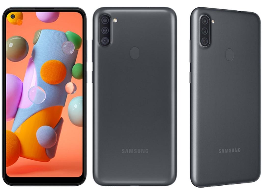 Samsung Galaxy A11 Diseño