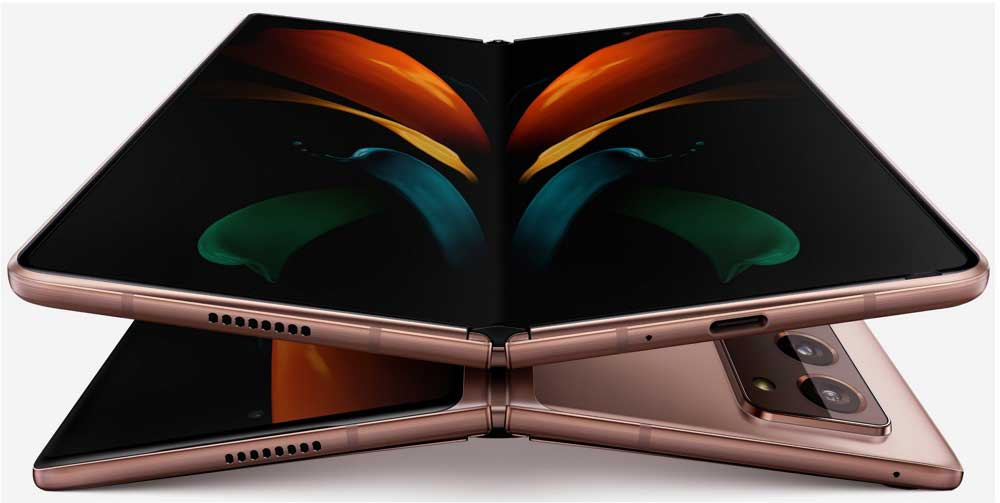Samsung Galaxy Fold 2 Abierto