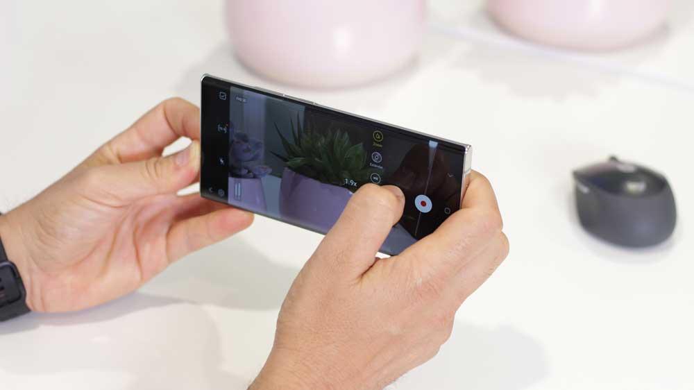 Samsung Galaxy Note 20 Ultra Aplicación De Cámara 1