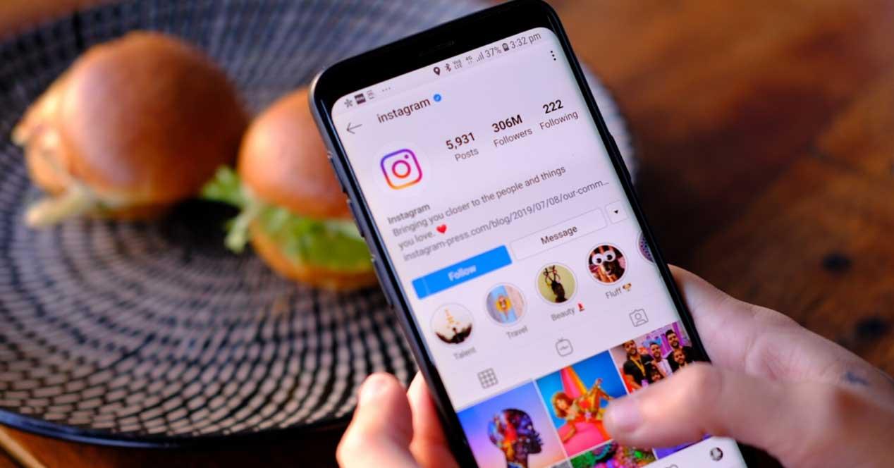 Usando Instagram
