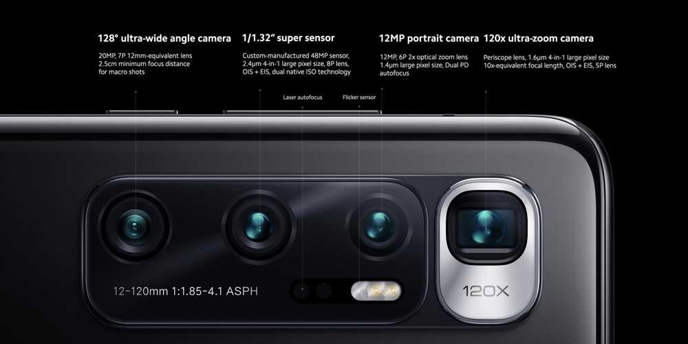 Xiaomi Mi 10 Ultra Cámaras