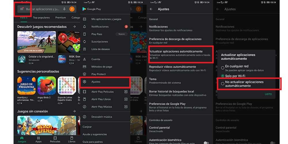 Desactivar Actualizaciones Automaticas En Google Play