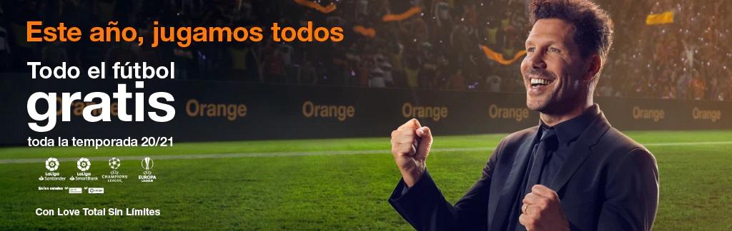 Futbol Fibra Orange