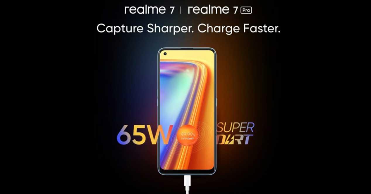Realme 7 Y 7 Pro Carga Rapida