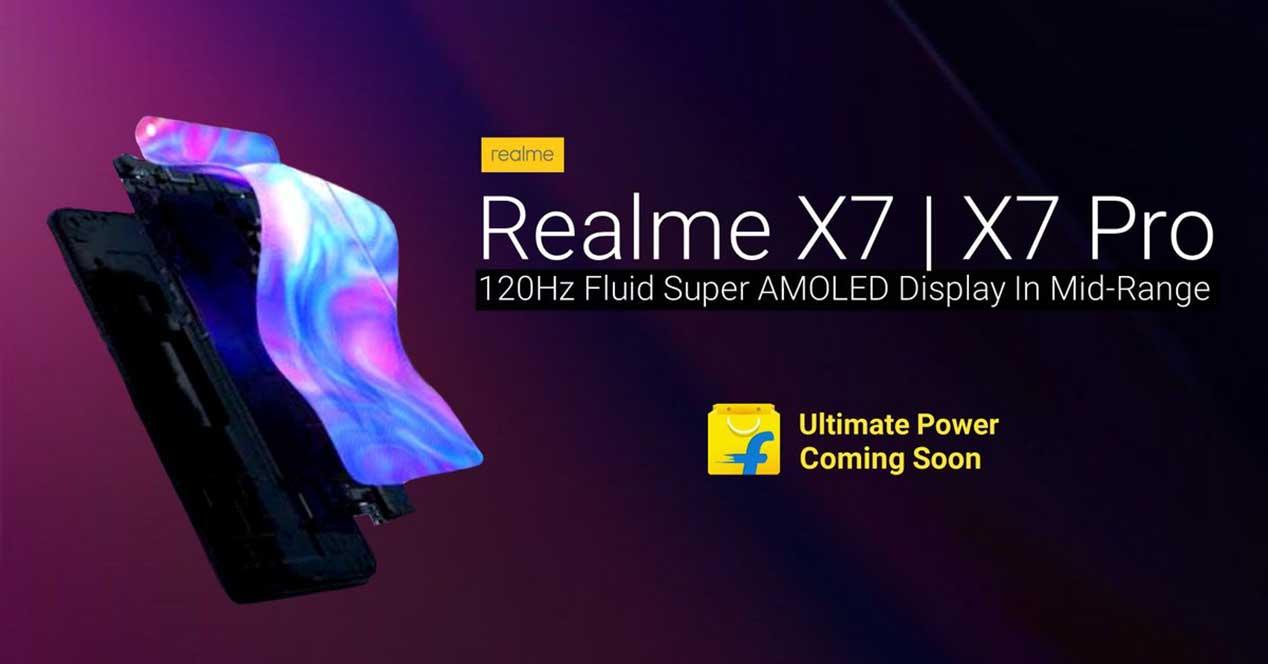 Realme X7 Y X7 Pro
