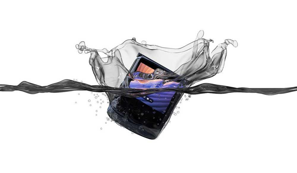 Motorola Razr 5g Resistencia Salpicaduras