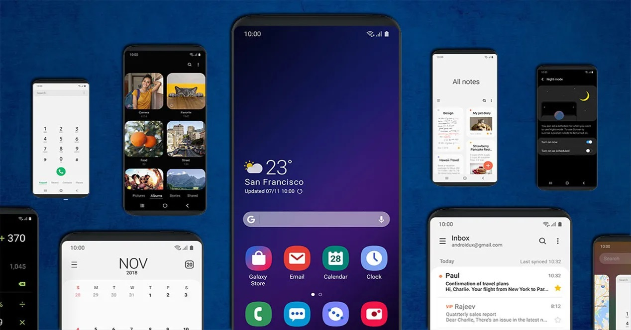 One Ui Galaxy S10