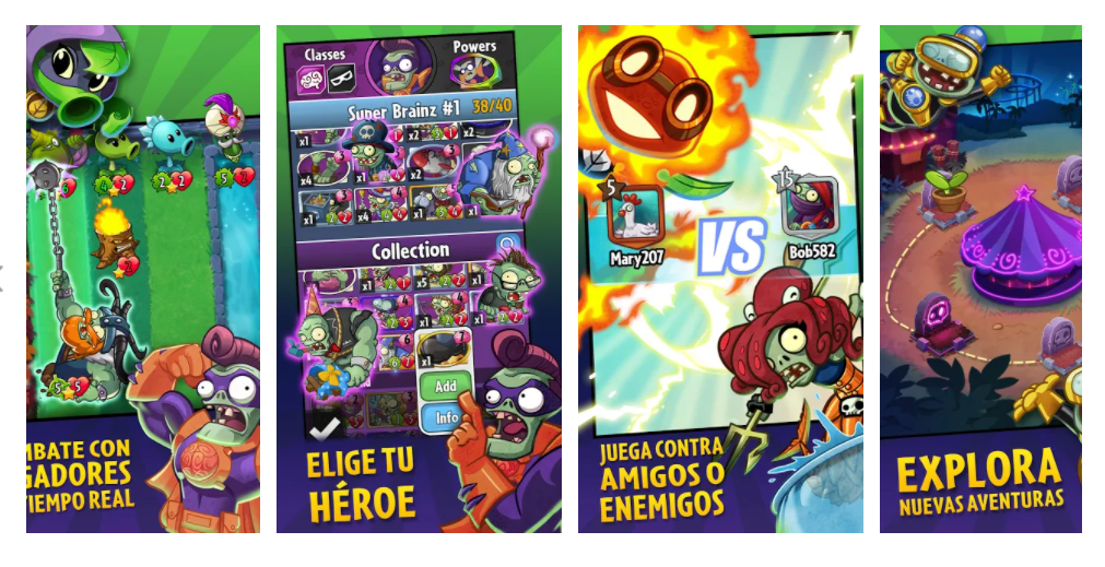 Plants Vs. Zombies Héroes