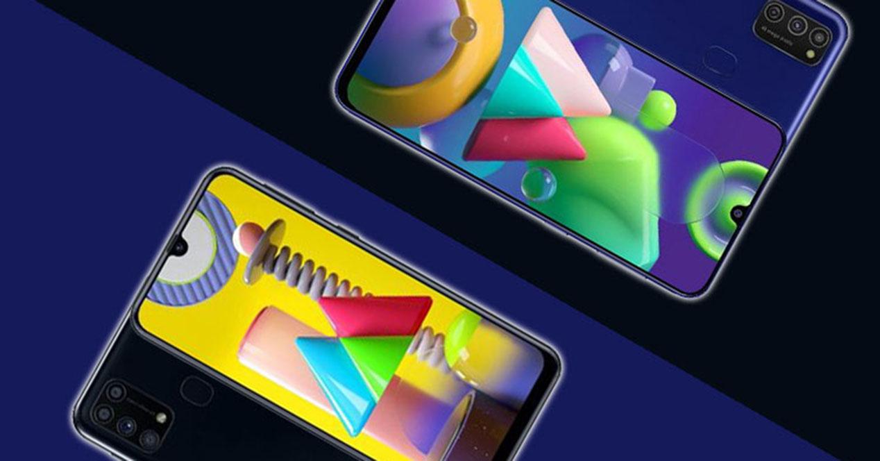 Samsung Galaxy M21 Y M31