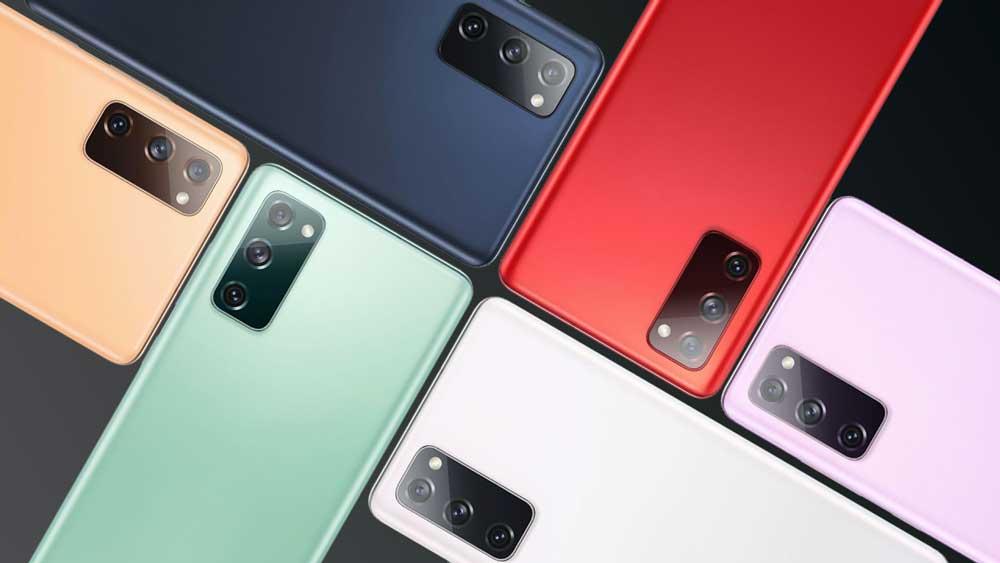 Samsung Galaxy S20 Fe Colores