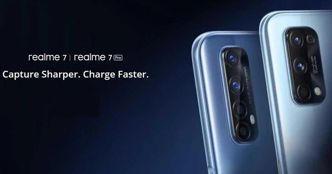 Realme 7 Y Realme 7 Pro