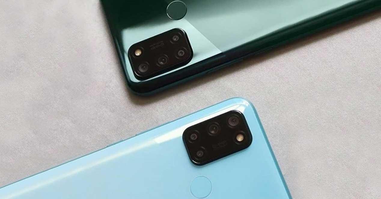 Realme 7i Azul Y Verde