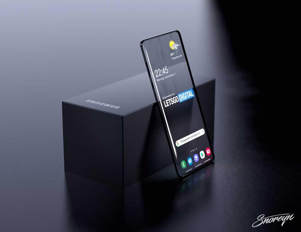 Samsung Transparante Smartphones