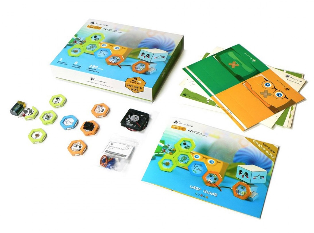 Honeycomb Kit Básico De Robótica Educativa