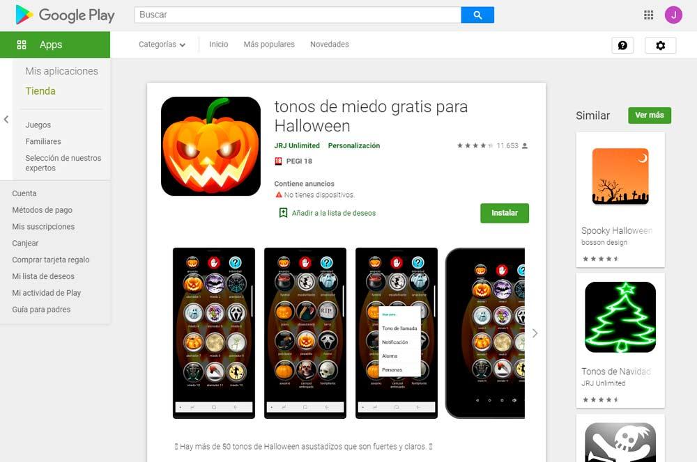 Apps Halloween 5