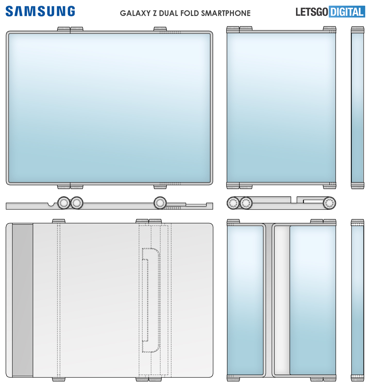Samsung Z Dual Fold Smartphone