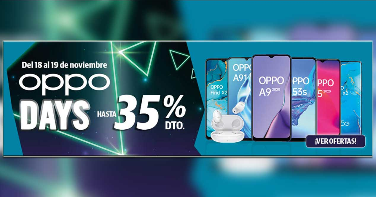 Oppo Days 18 Y 19 Noviembre