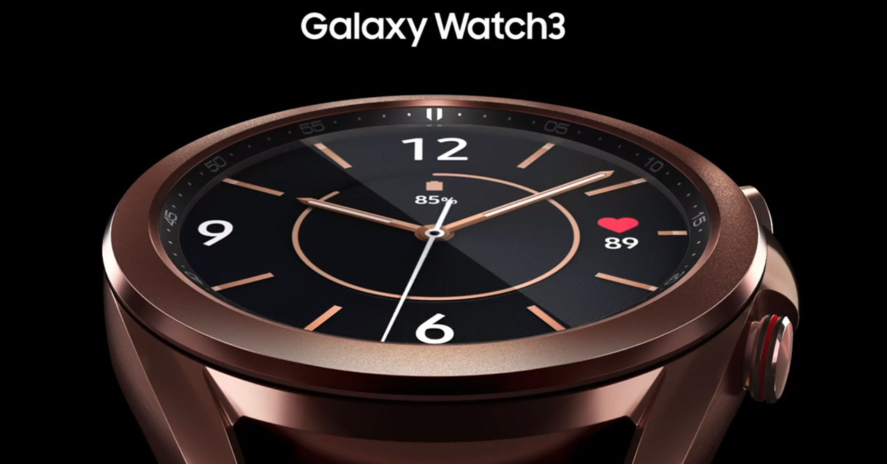 Samsung Galaxy Watch 3 Unpacked 2020 A