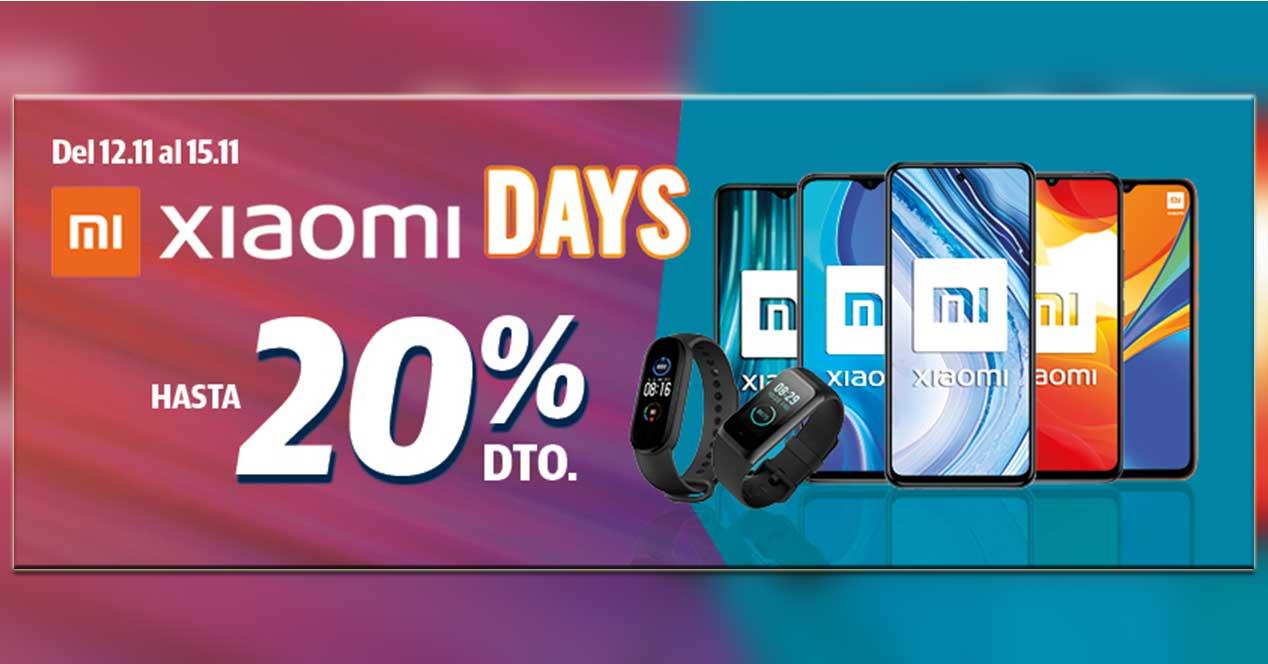 Xiaomi Days Del 12 Al 15 De Noviembre