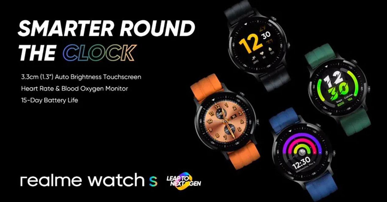 Realme Watch S Colores