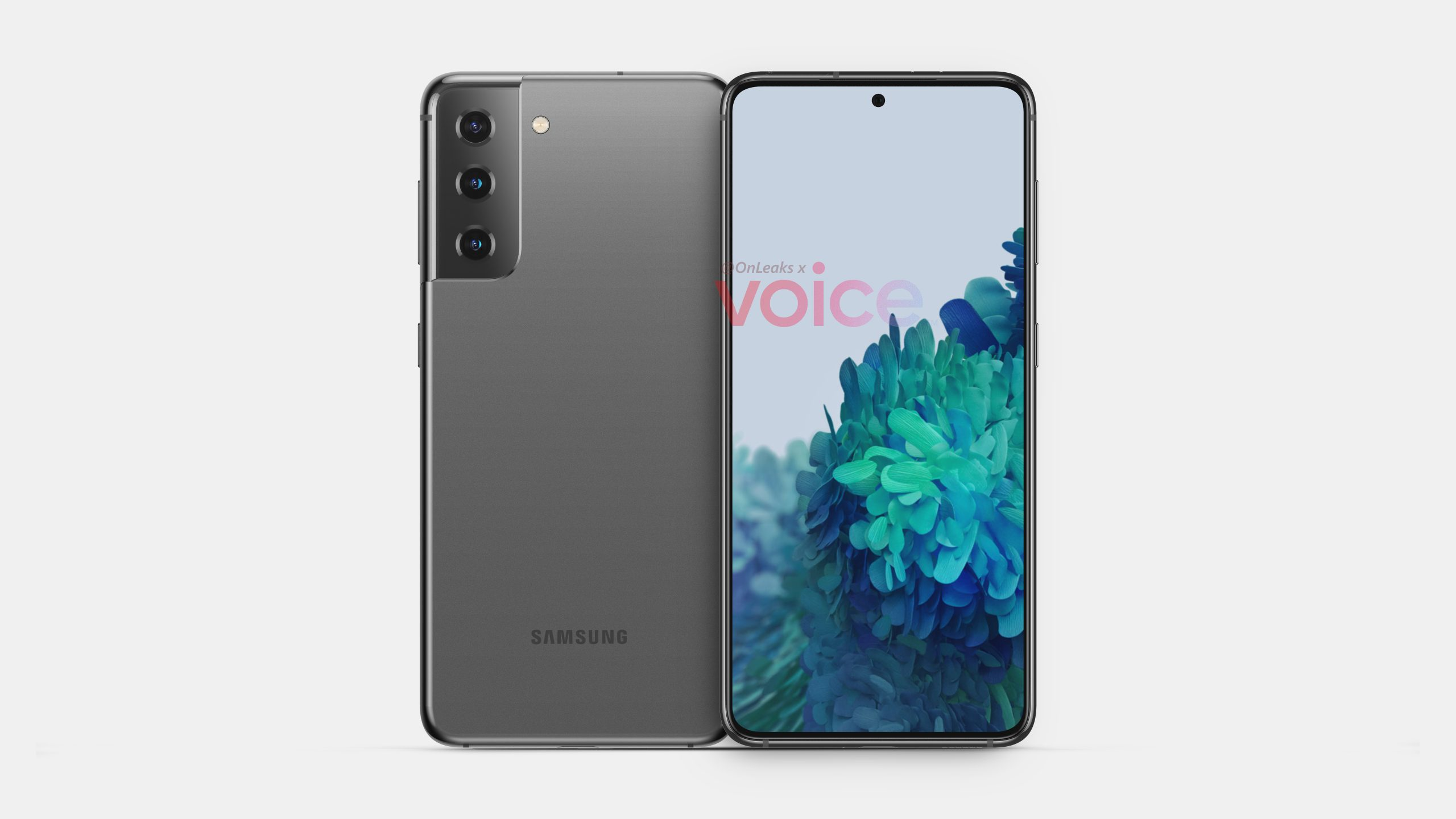 Samsung Galaxy S21 Frontal Y Trasera