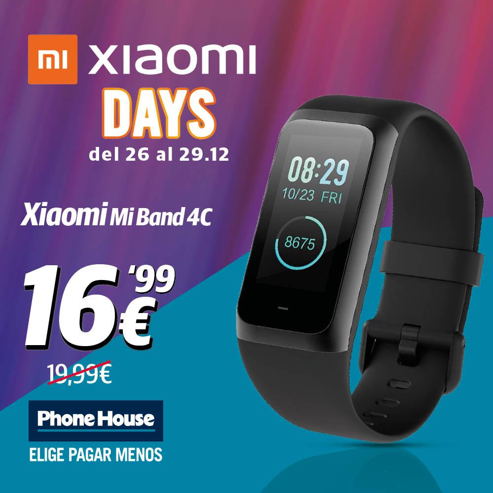 Xiaomi Days Mi Band 4c