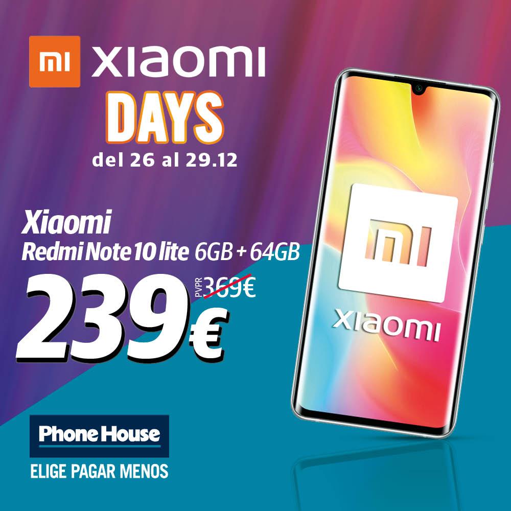 Xiaomi Days Mi Note 10 Lite