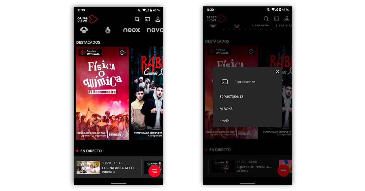 Atresplayer Directo App