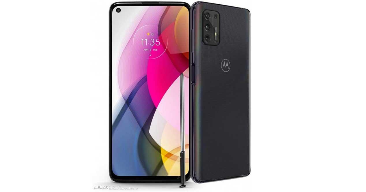 Motorola G Stylus Frontal Y Trasera