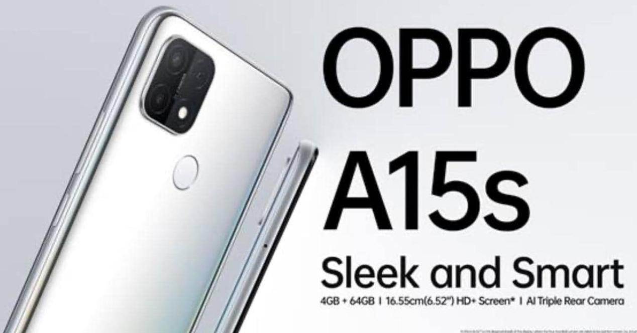 Oppo A15s Presentado