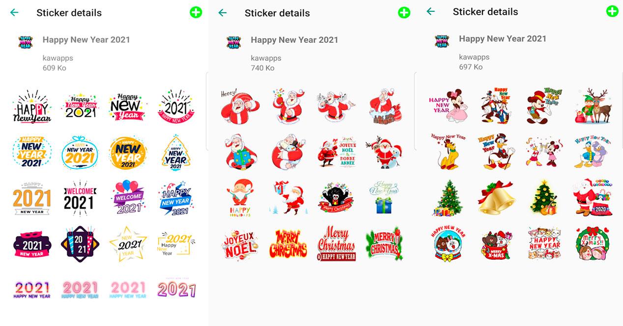 Stickers Whatsapp Feliz Año Nuevo 2021