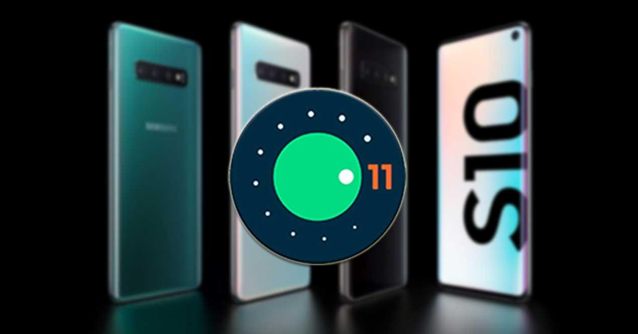 Android 11 Para Los Galaxy S10