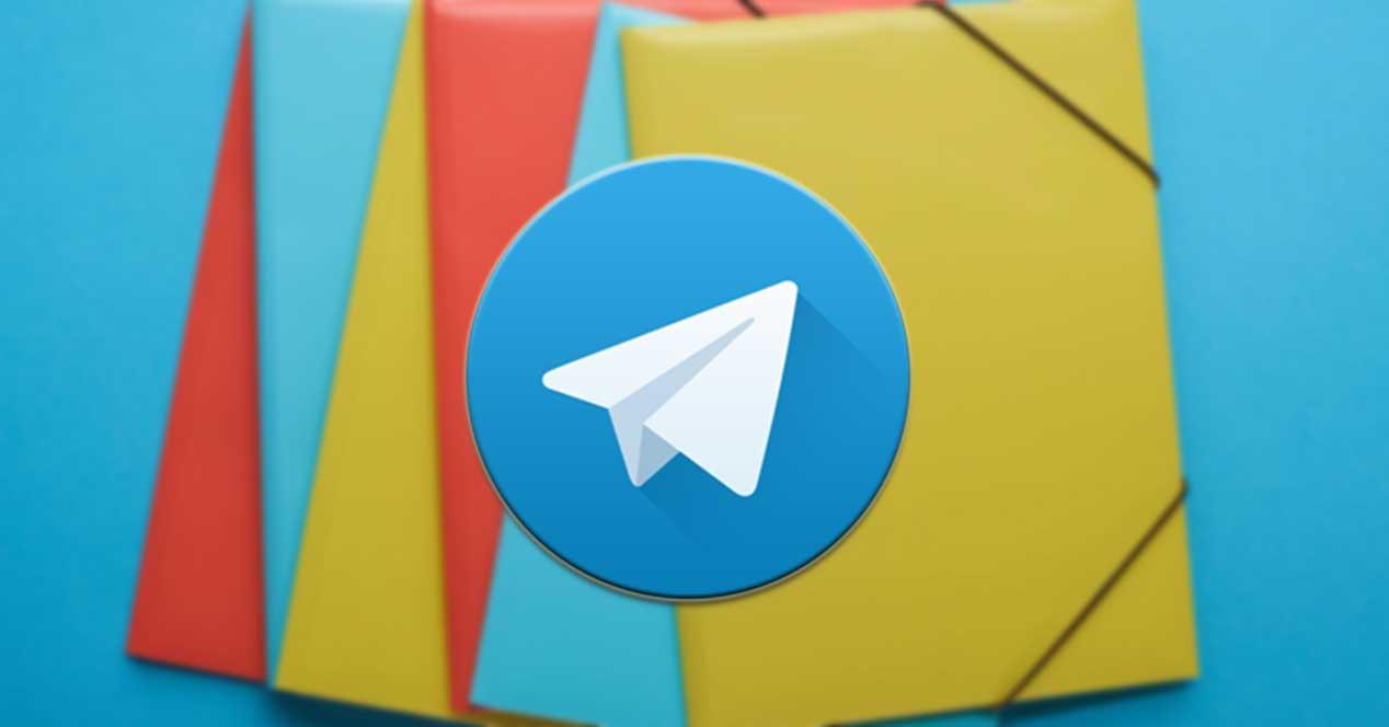 Crear Carpetas En Telegram