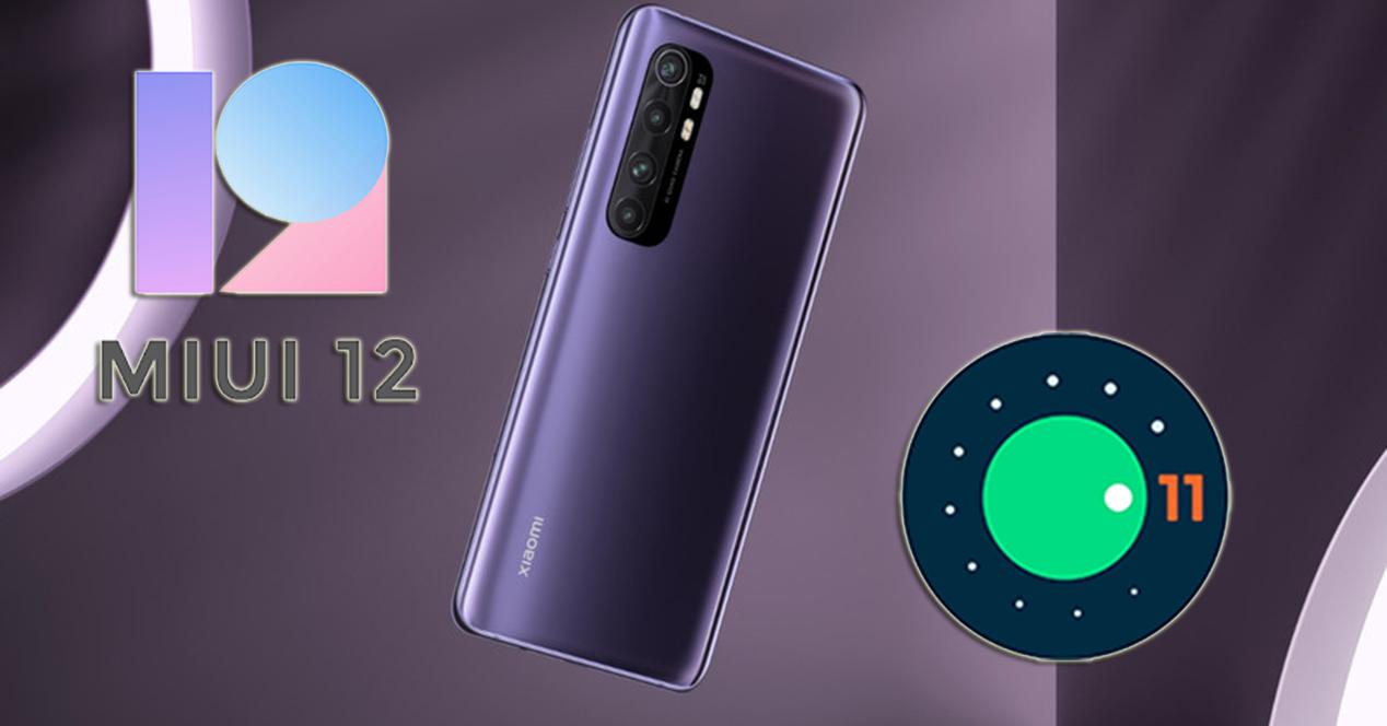 Xiaomi Mi Note 10 Lite Con Android 11