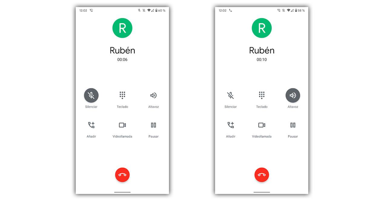 Llamada Android