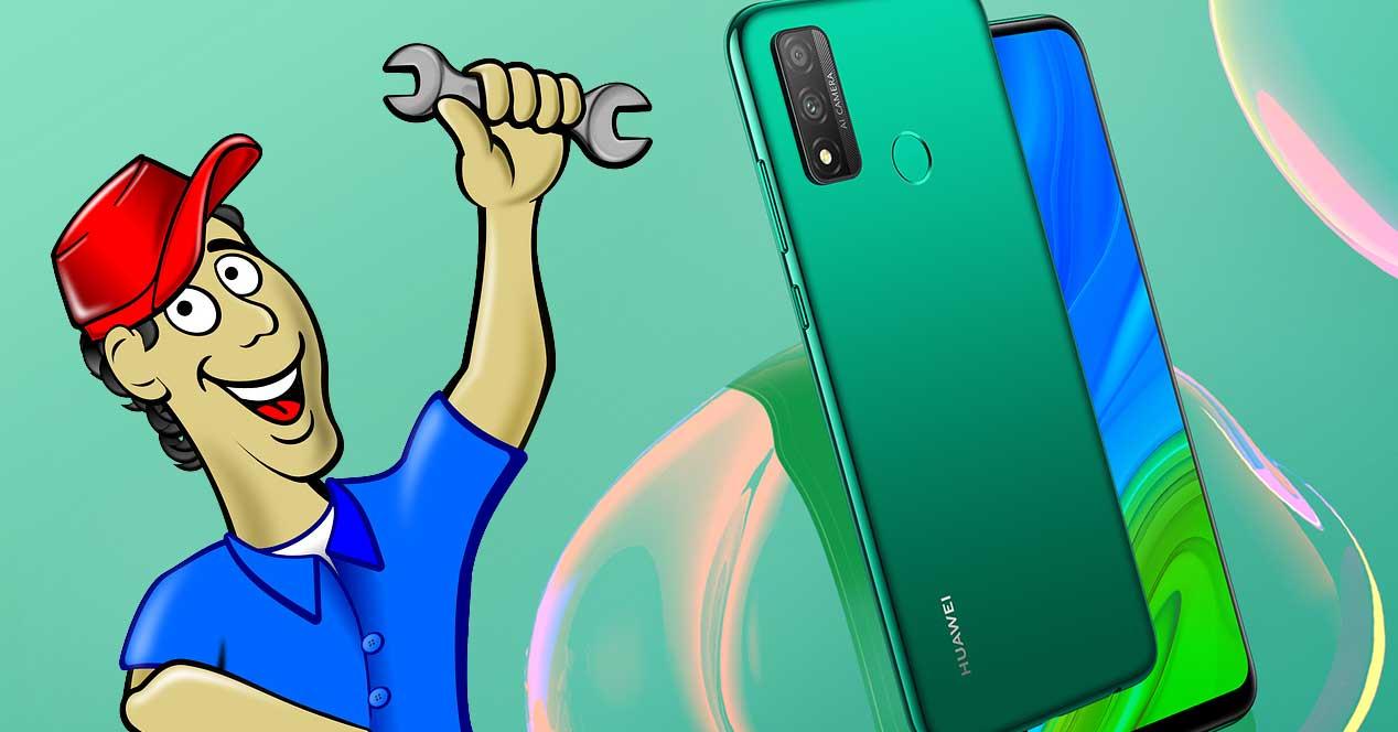 Modo Manenimiento Huawei