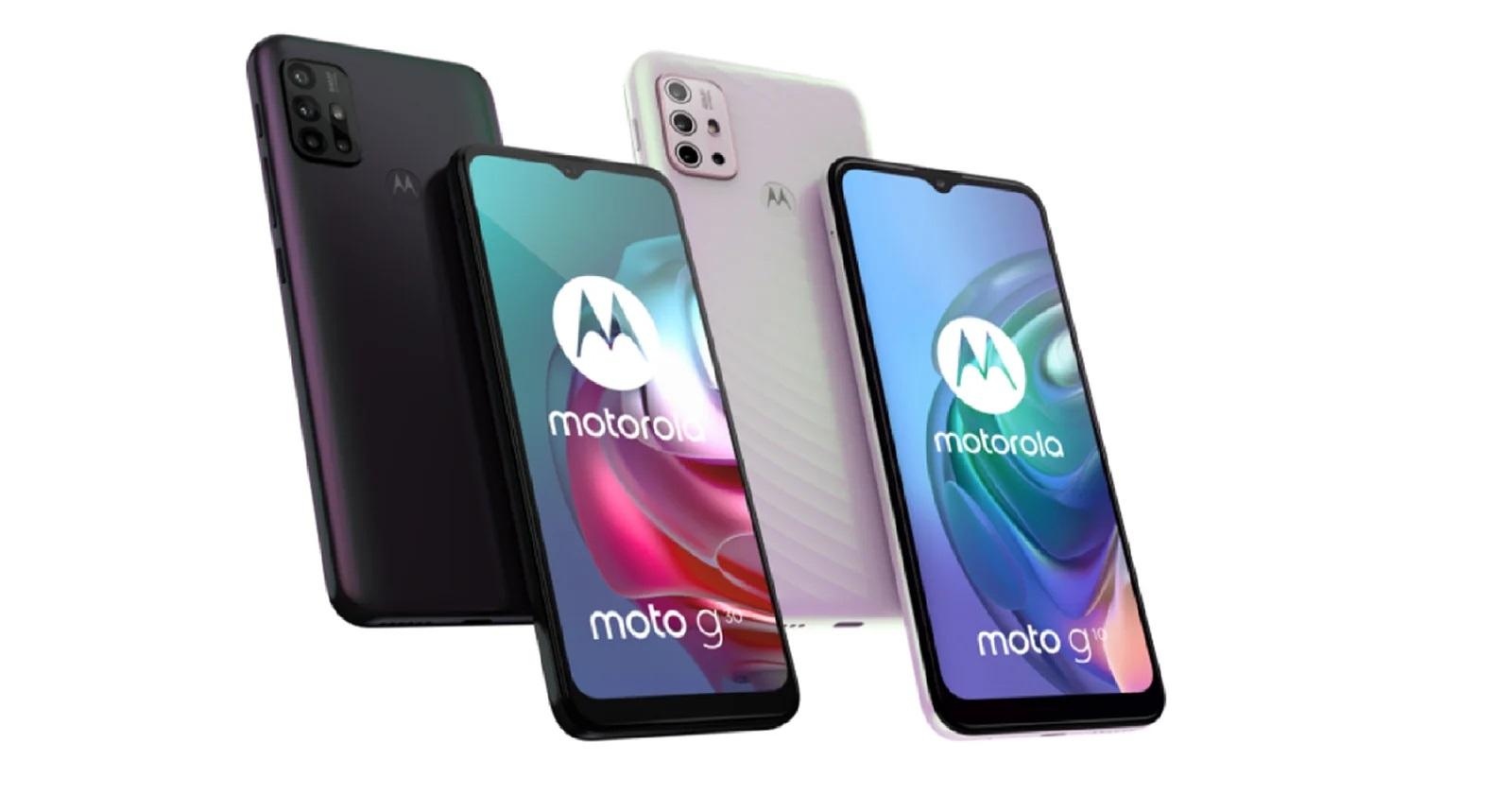 Motorola Moto G10 Y Moto G30