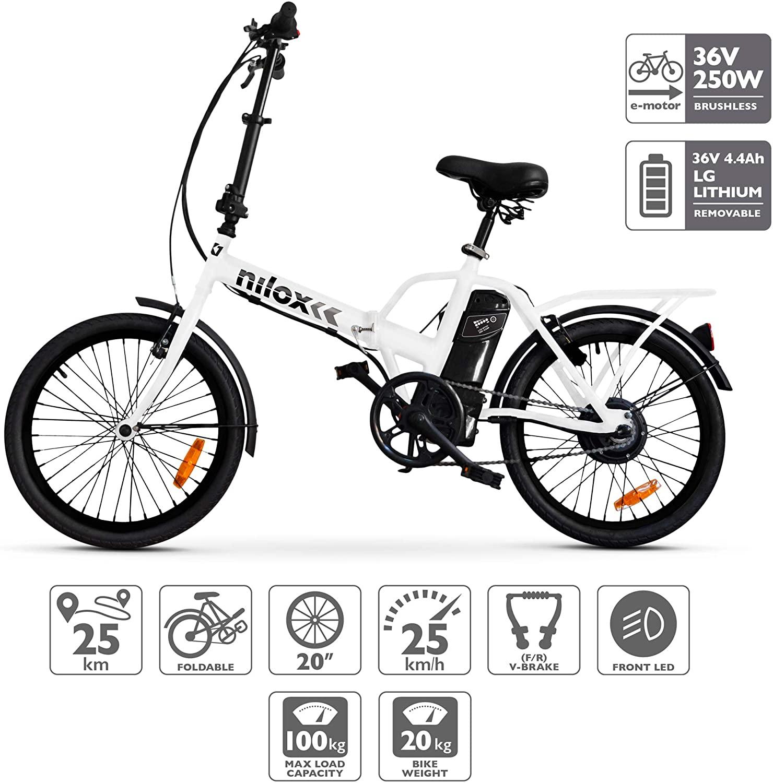 Nilox Bicicleta Eléctrica X1
