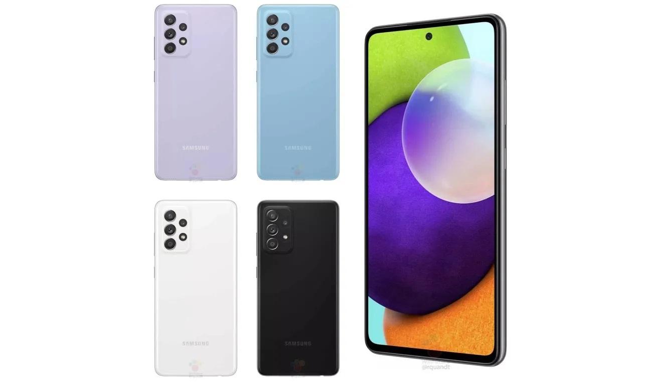 Galaxy A52 Colores