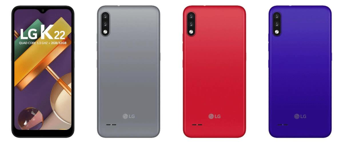 Lg K22 Colores