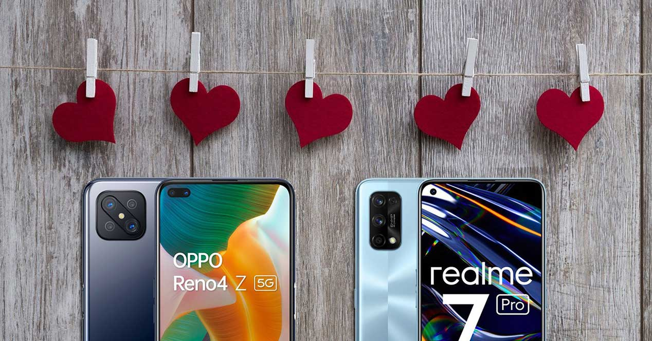Moviles San Valentín