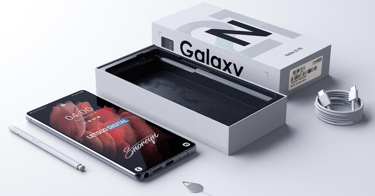 Samsung Galaxy Note 2021