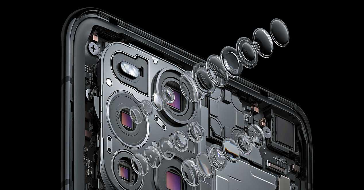 Tres Sensores Find X3 Pro