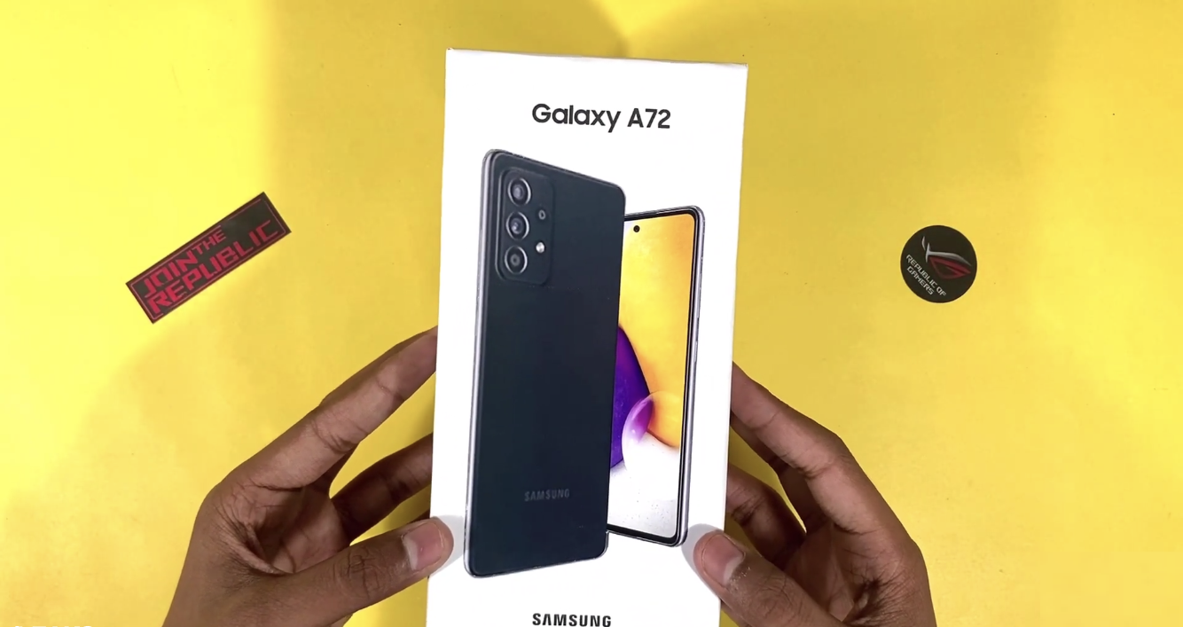 Galaxy A72 5g Filtrado
