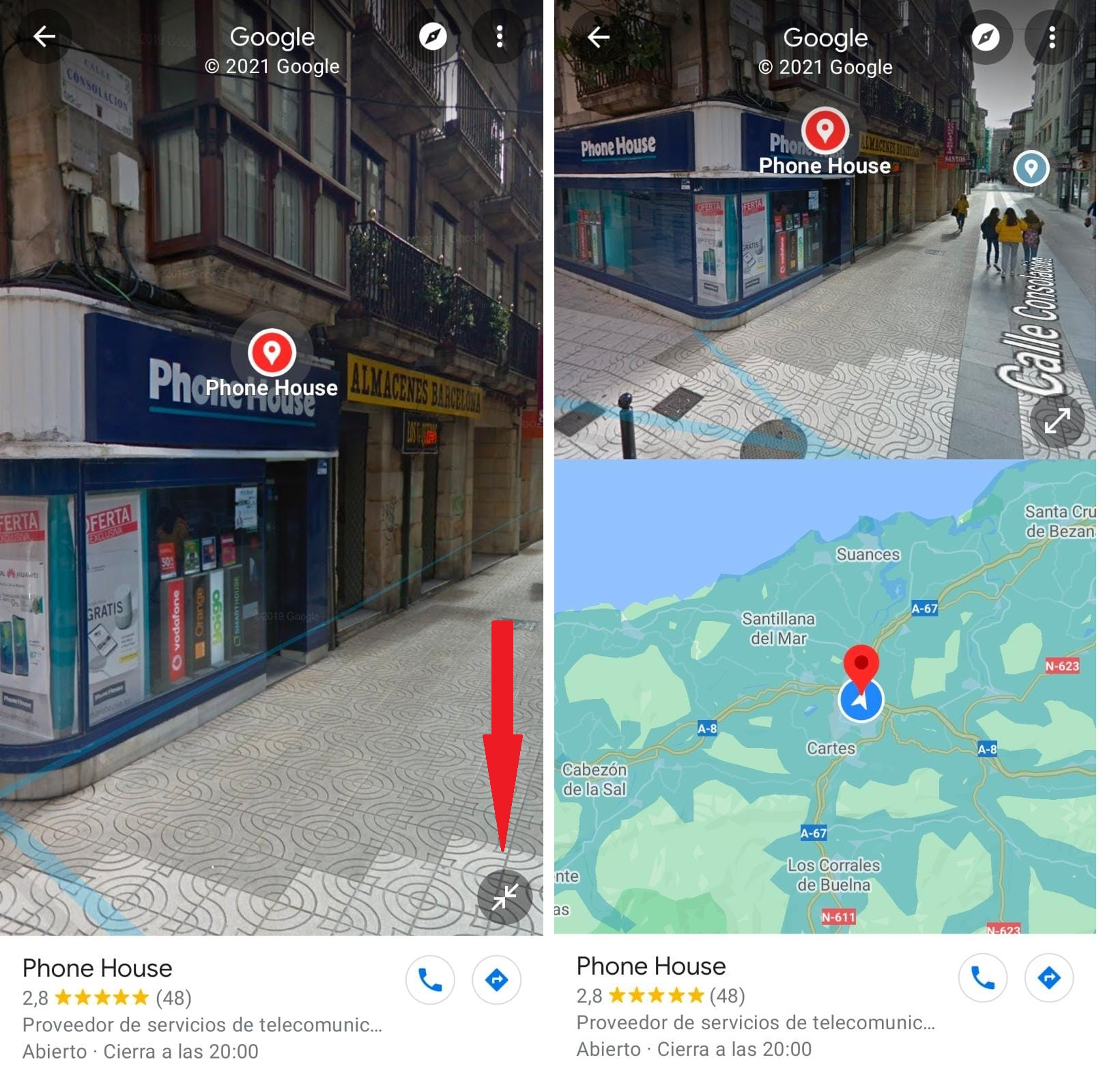 Google Maps Y Phone House 02