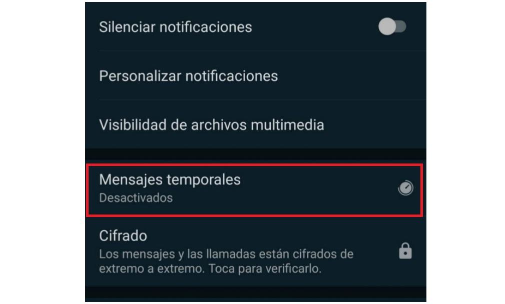 Mensajes Temporales Whatsapp 01