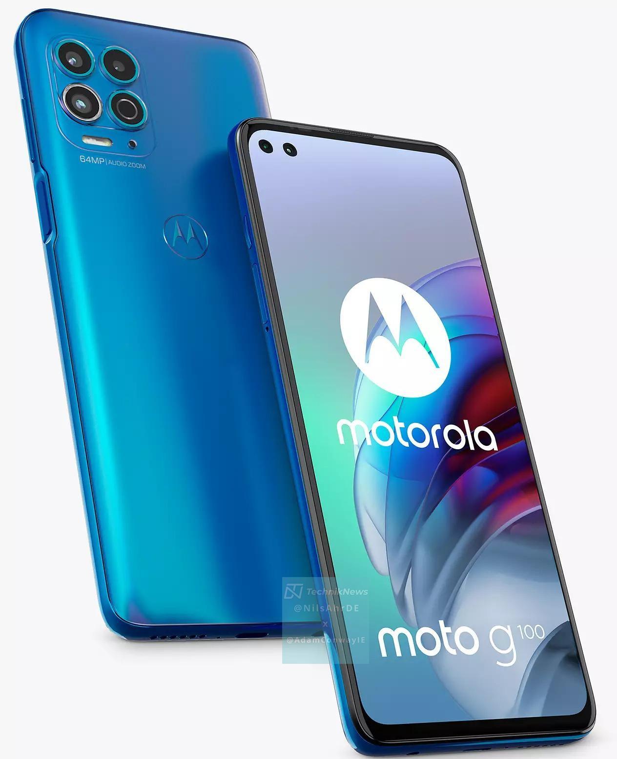 Motorola Moto G100 Azul